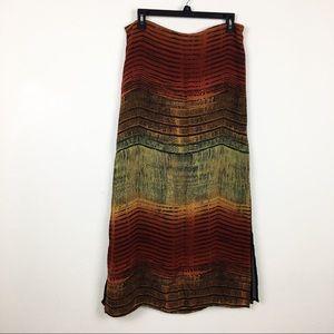 Chico's maxi skirt